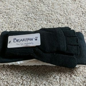 Bearpaw headband and glove set